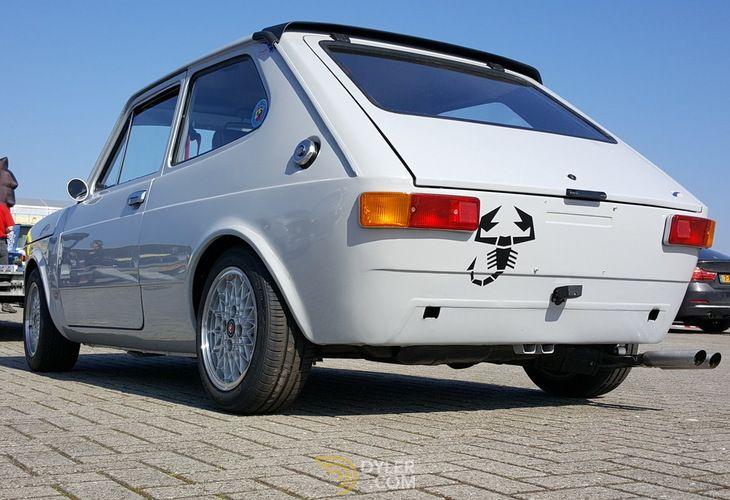 Fiat 127 Abarth Hatchback 1977 Grey Abarth 19510 Veiculos