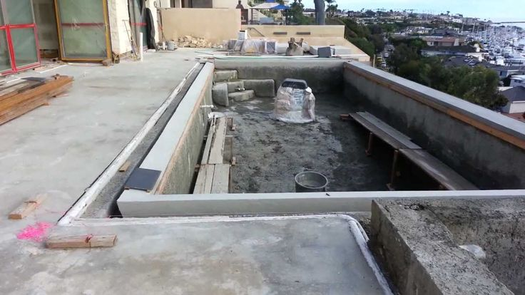 perimeter overflow pool construction - Google Search
