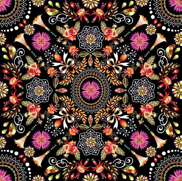 ♥  Mandala... ॐ  Permite despertar nuestra intuición y puede ayudarnos a centrarnos, relajarnos y fomenta nuestra creatividad.