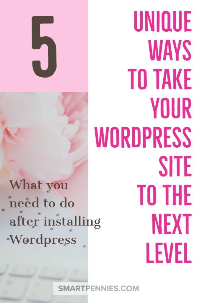 5 unique ways to improve your wordpress site. Check out these 5 things that you should do to optimise your WordPress site. Read it today to make sure you have these 5 things implemented and you are not missing out!