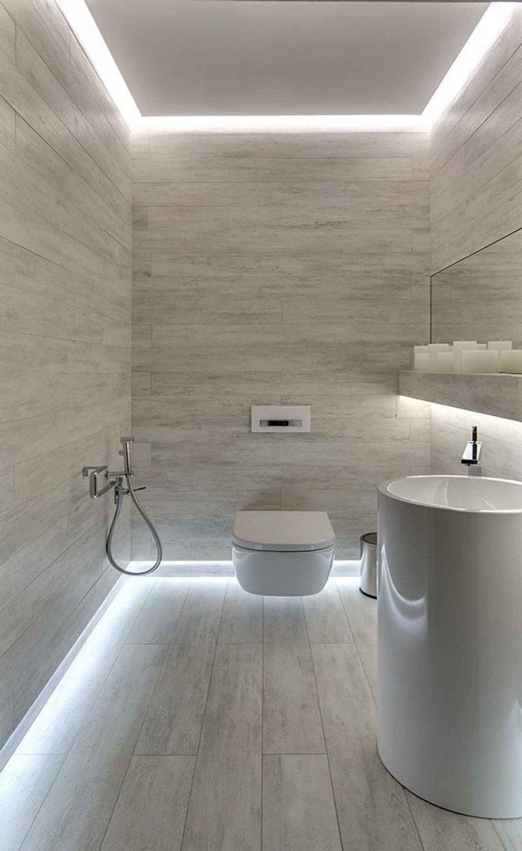 Oltre 25 fantastiche idee su bagni moderni su pinterest - Parquet nel bagno ...