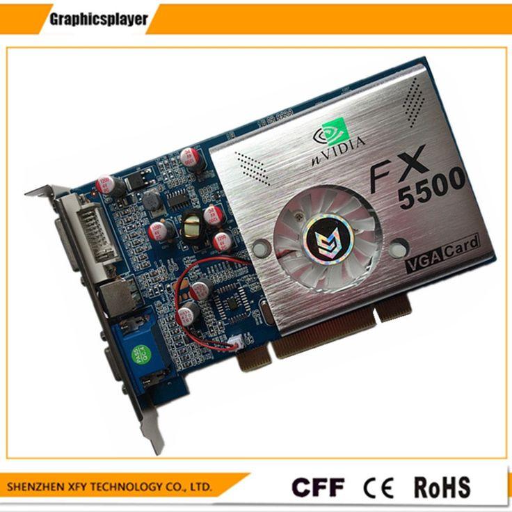 100%  NEW  256MB DDR 128Bit GF5500 pci  PC Graphics Card   Placa de Video carte graphique Video  Card for  Nvidia  S-Video //Price: $32.37//     #Gadget