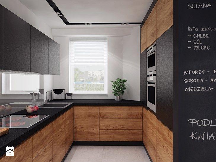 projekt 11 - Średnia kuchnia, styl nowoczesny - zdjęcie od PASS architekci