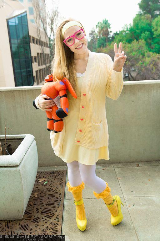 Honey Lemon and Baymax #cosplay   Anime Los Angeles 2015 - Sunday #DTJAAAAM