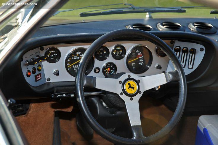Ferrari Dino dash board | Ferrari | Pinterest | Ferrari ...
