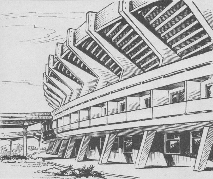Красноярск. Стадион.