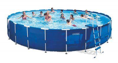 Intex Metal Frame Pool Set, 24-Feet by 52-Inch (Older Model)