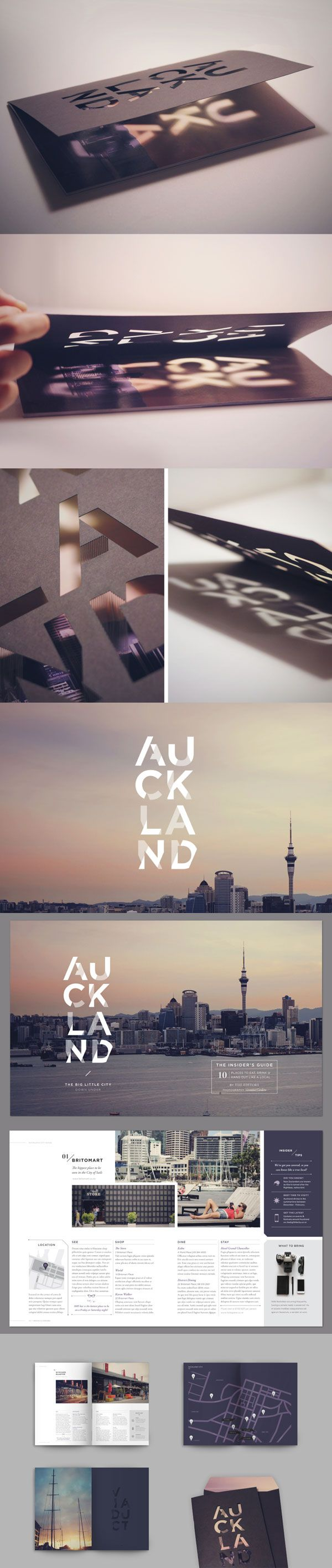 LED light shines through cut out letters. The light turns on automatically as you open it. | pinned by www.website-designers.co.nz/
