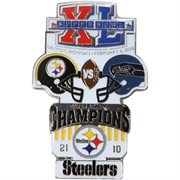 Pittsburgh Steelers Super Bowl XL Collectors Pin