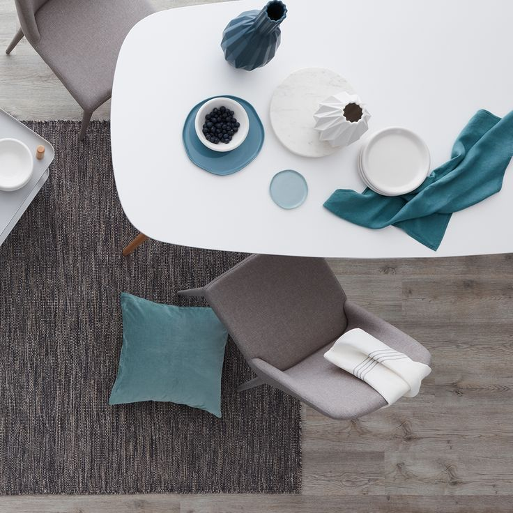 Nova Dining with Cruz Chairs, available at Focus On Furniture.
