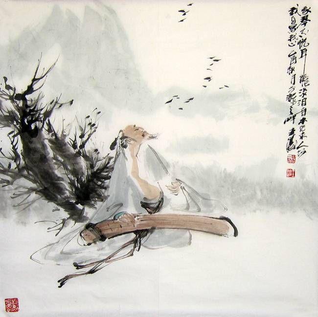 *** Il potere della musica ***  Shi Wen visse nello Stato di Zheng durante il Periodo di Primavera e Autunno (770-476 AD). Shi Wen decise di diventare discepolo del famoso suonatore di Guqin Shi Xiang, quando sentì che la musica di Shi Xiang era così attraente da far danzare gli uccelli al suo ritmo e da far saltare a tempo i pesci nello stagno. Shi Wen si recò allora presso la residenza Shi Xiang ... -- > http://on.fb.me/1G1oopI