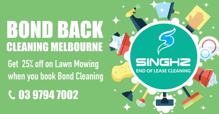 Get 25% off on Lawn Mowing when you book Singhz End of Lease Cleaning. #EndOfLeaseCleaning #BondCleaning #LawnMowing #CleaningMelbourne