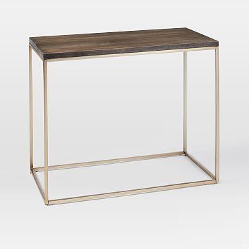 streamline narrow side table - Narrow Nightstand