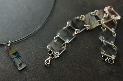 """recycle plastic containers into """"shrinky dink"""" jewelry: Shrinki Think, Mothers Day, Shrinki Bracelets, Pendants Necklaces, Custom Jewelry, Plastic Container, Shrink Plastic, Diy Projects, Food Container"""