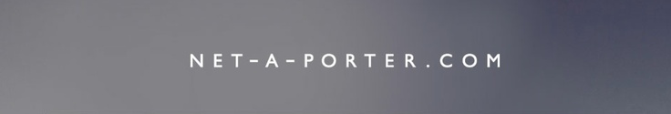 Net-a-porter really knows how to do ads, don't we all love simplicity?