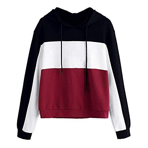 ZEZKT Sweat Shirts FemmeSweats à Capuche Fille Sport Hoodie