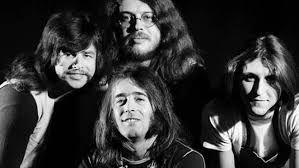 Az LGT nevezetű zenekar tagjai,akik nagy szerepet játszottak a magyar rockzene kialakulásában.