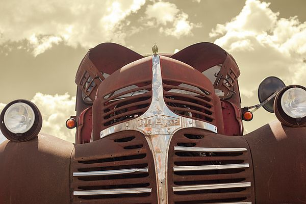 #Rusty #old #Dodge #truck by Shellie Bock
