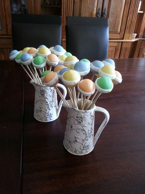 My first ever cake pops