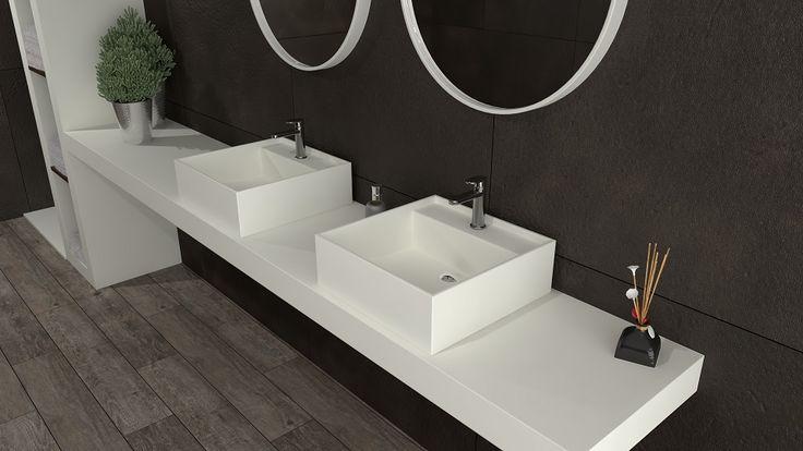 Solid Surface Badkamer : Besten solid surface badkamer bilder auf