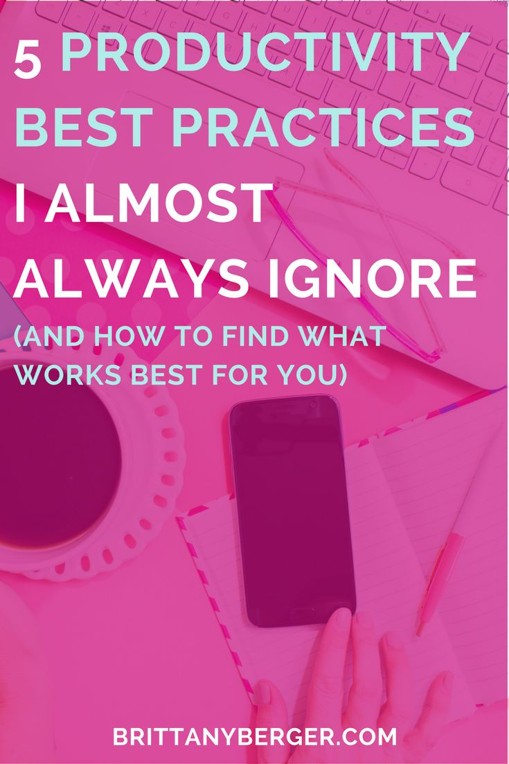 Productivity tips and best practices have their place, but you don't need to live and die by what productivity gurus say. Things like batching, Pomodoro, and sprints have their place, but don't work in every situation. The key is knowing when breaking a rule will make you more productive, not less. Here's 5 stories of how I became more productive by breaking the rules.