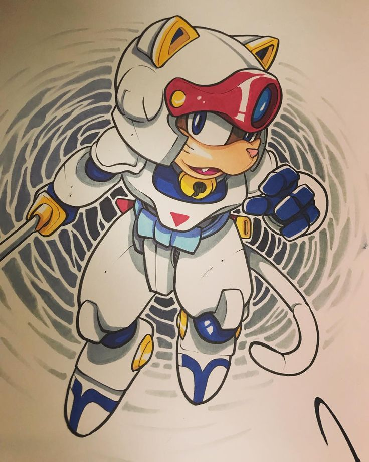 Speedy from samuraipizzacats Pre commission done for NYCC