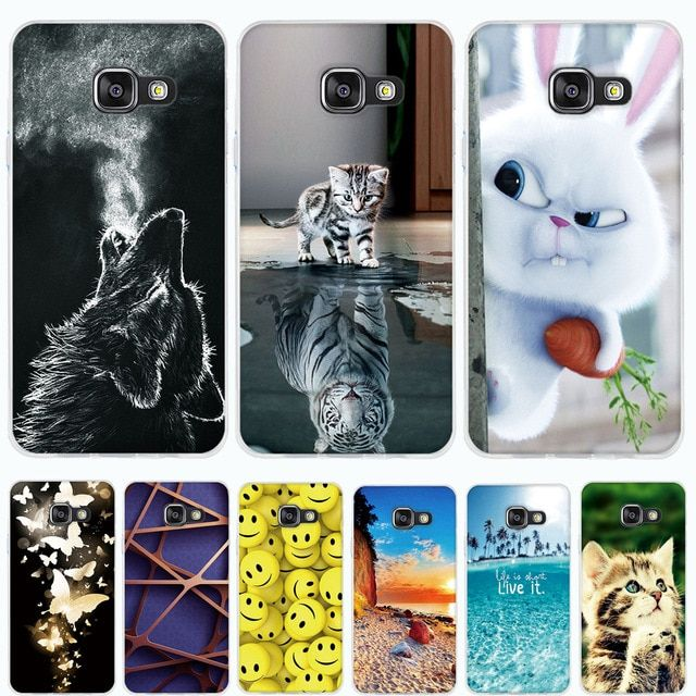 Case For Samsung Galaxy A3 2016 Case Cover For Samsung A3 2016 Case Silicone Cover 3d Tpu Soft Funda For Samsung A3 A310f Coque Review Cat Flowers Silicon Case Transparent Silicone
