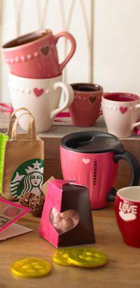 2012 Starbucks's Valentine coffee mug - will have to give Doug a hint lol!