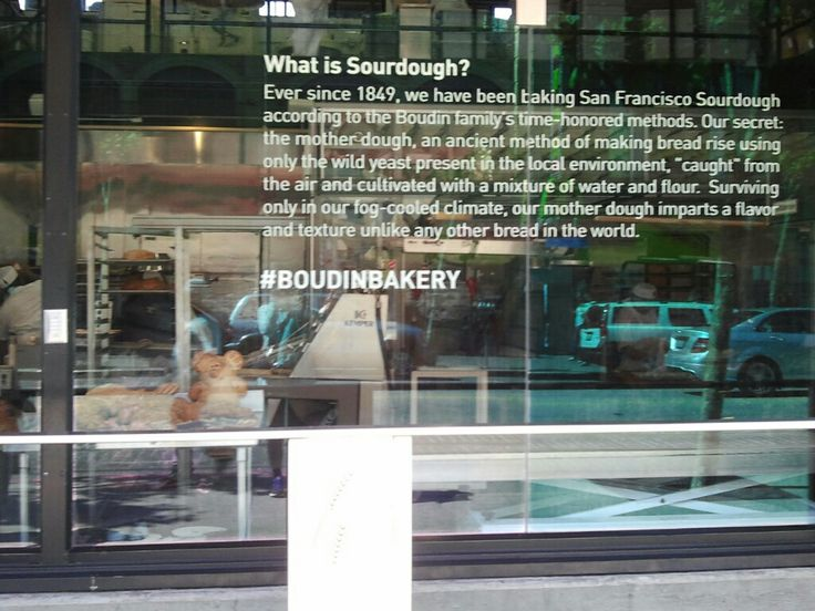 도촬 중 ㅎㅎ To see what people inside of Boudin restaurant are doing via the see-through window.