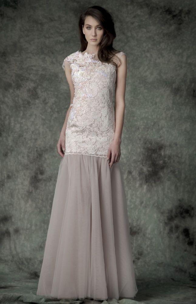 Cherry Blossom Wedding Gown – Simona Semen – Rochie de mireasa Cherry Blossom