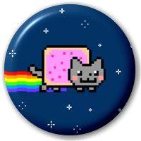Nyan Cat - Pin Button Badge