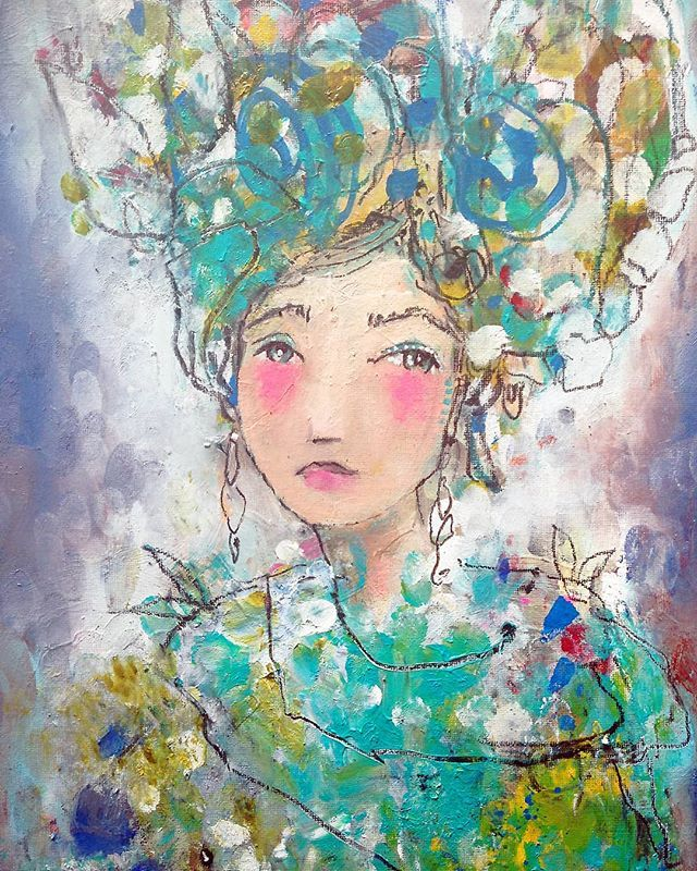 No One Is Ever Really Lost As Long As Their Story Still Exists R M Romero From Her Novel The Dollmaker Of Kr Art Appreciation Art Drawings Folk Art Painting