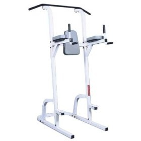 Maximus Fitness MX378 Chin Up Knee Raise and Dip Station, (fitness power tower)