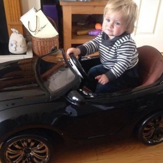 Nice Happy Birthday Theo on 16th of July, 2014! They see Niall rollin! They hatin!