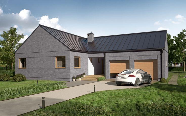 DOM.PL™ - Projekt domu DEA Narvik CE - DOM DE1-38 - gotowy projekt domu
