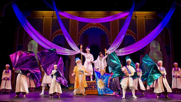 Disney's Aladdin: A Musical Spectacular. Hollywood Land, Disney California Adventure.
