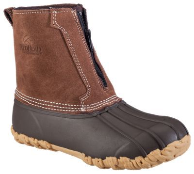 RedHead All-Season Classic II Zip-On Insulated Rubber Boots for Ladies - 10 M