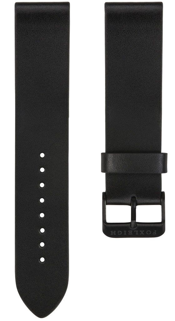 Straps - Black With Black Buckle