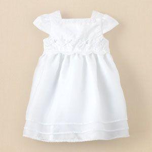 floral christening dress