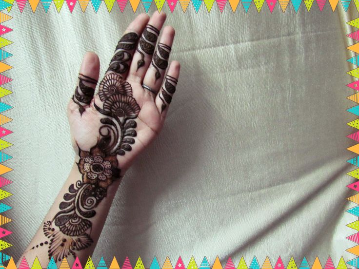 Mehndi Art Step By Step : Best beautiful mehndi design images
