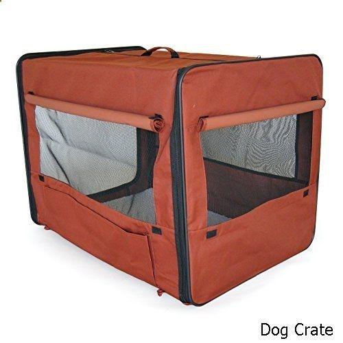 Dog Crate - Go Pet Club Soft Dog Crate, 28-Inch
