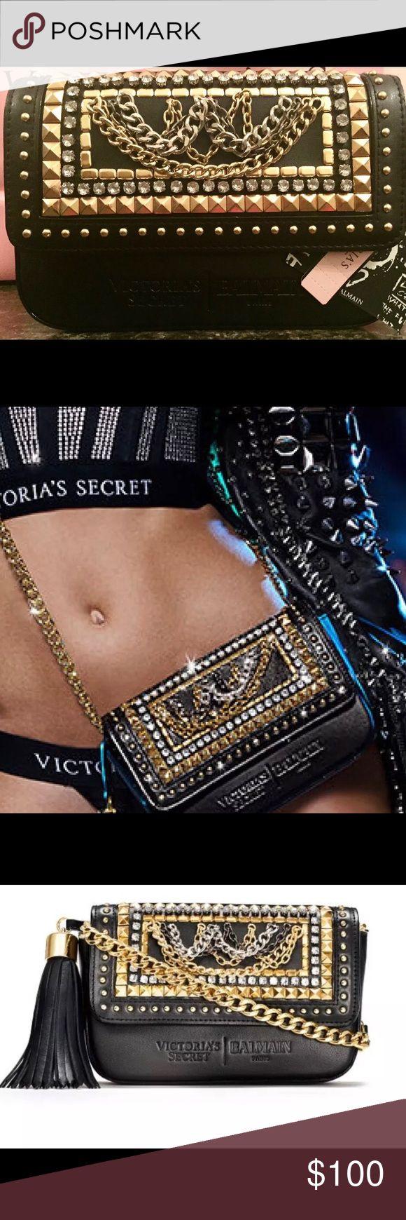 NWT BALMAIN X VICTORIA SECRET CROSSBODY BAG NWT SOLD OUT Balmain Bags Crossbody Bags