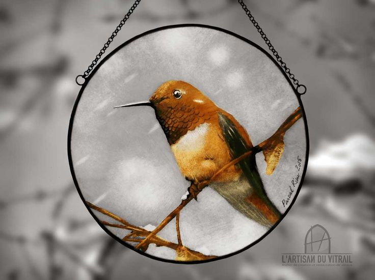 7 best Mis vitrales images on Pinterest | Copper, Ribbons and Bird