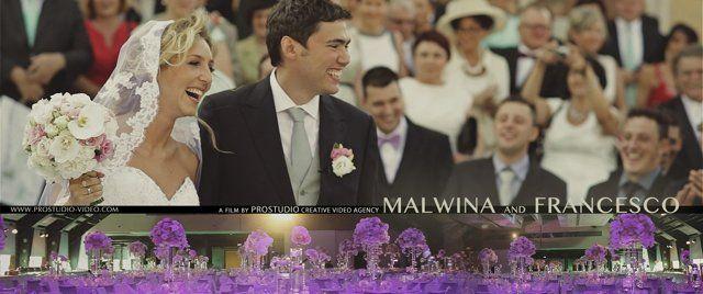 Best glamorous wedding everyone should have!