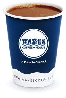 Possibly the best cup I have had. Waves in Calgary, Alberta, Canada.