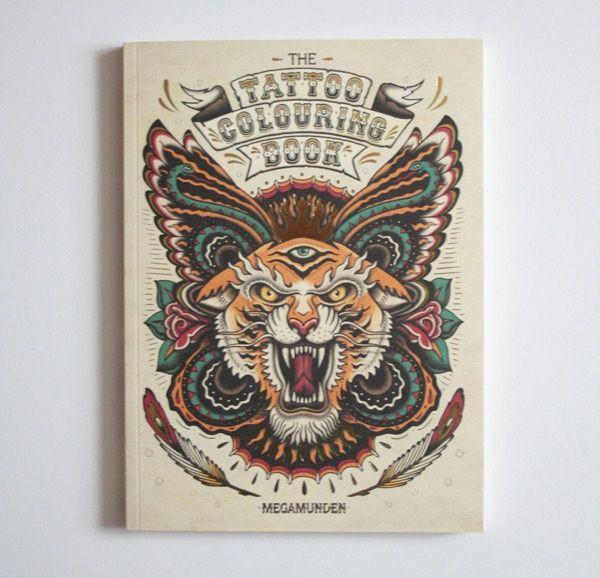 Tattoo Coloring Book - Kleurboek   DIY   Een Nieuw Avontuur