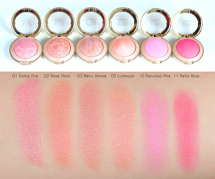 BonnieBeautyxo | New Zealand Beauty Blogger: Milani Baked Blush Review & Swatches