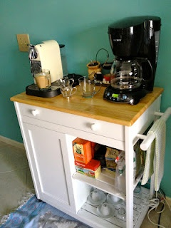 17 best images about coffee station on pinterest for Kitchen outlays