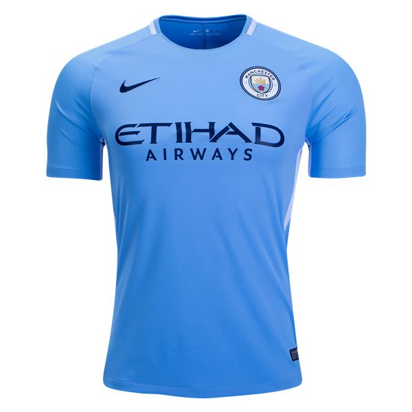 Manchester City Home Football Shirt17/18 ThisManchester City Home Football Shirt2017 2018 is what the blue half of Manchester will be wearing at home during the 17/18 campaign. Cheer the Sky Blues. A very clean design, the new Man City 2017-18 kit combines the club's famous Sky Blue main color with white applications and navy logos.The […]