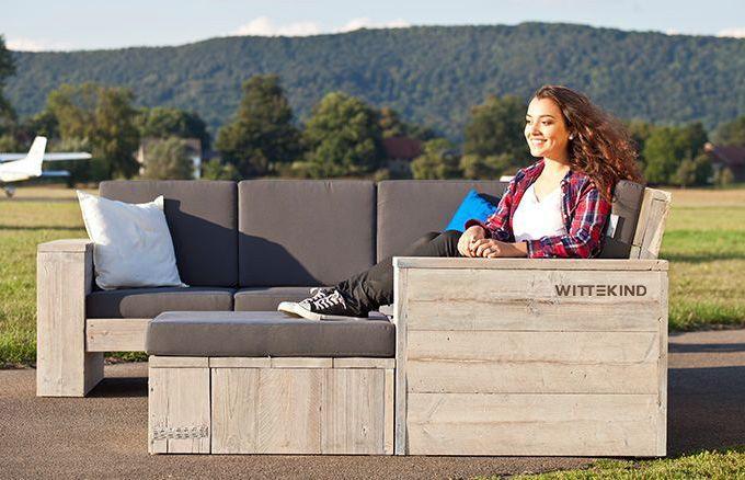 Das stilvolle und gemütliche WITTEKIND Lounge Ecksofa ist der richtige Platz zum Entspannen und Wohlfühlen.